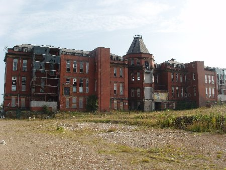 Blackburn Royal Infirmary, July 2011...