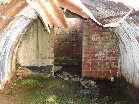 Grane Road air raid shelter, Blackburn...